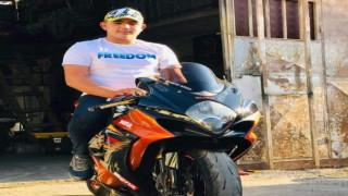 Motosiklet tutkunu genç toprağa verildi