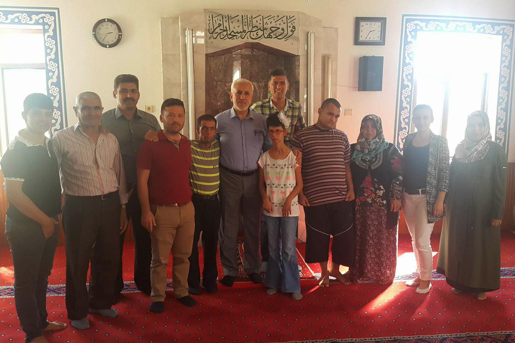 Özel Öğrencilerden Cami Ziyareti