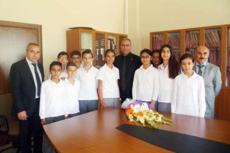 Tekeli Öğrencilerden Adliye Ziyareti