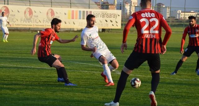 Serik Belediyespor - Fatih Karagümrük : 1-1