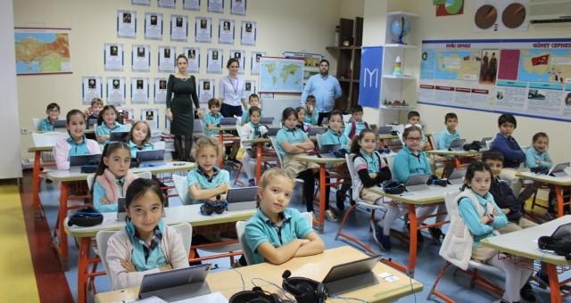 Yükseliş Yabancı Dil Eğitiminde Avrupa Birliği Dil Projesi Yürütüyor