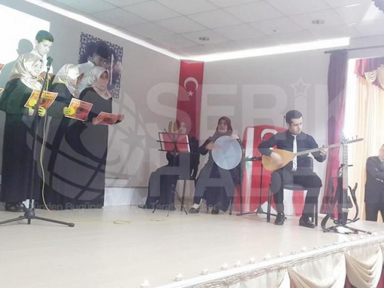 Serik Anadolu İmam Hatip Lisesinde Kutlu Doğum Heyecanı
