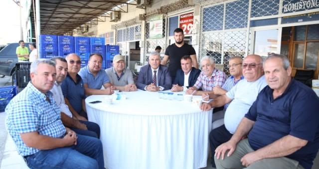 Hal Esnafından Serik Belediyespor'a Tam Destek