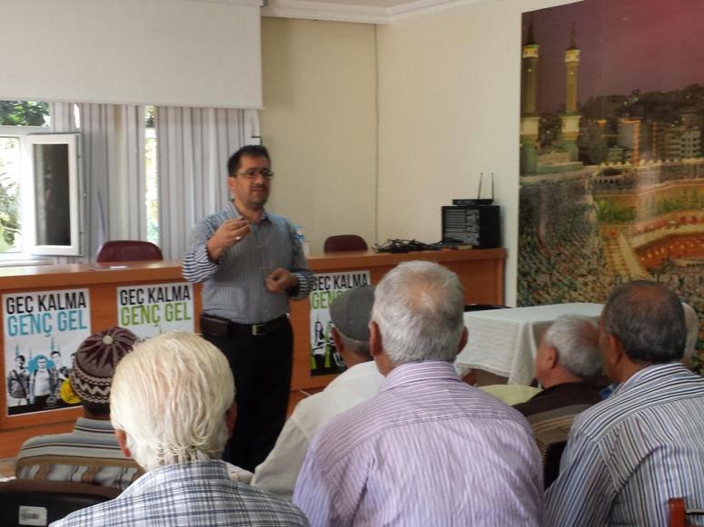 Hacı Adaylarına Yönelik Eğitim Seminerleri Başladı