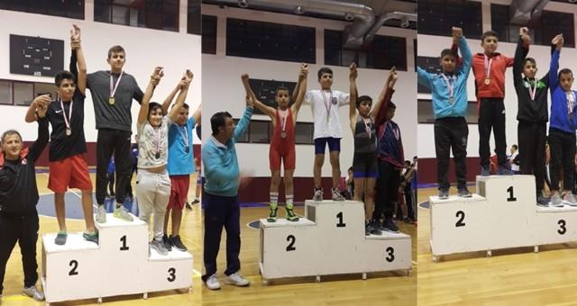 Serik Gençlik Spor' da 4 Madalya