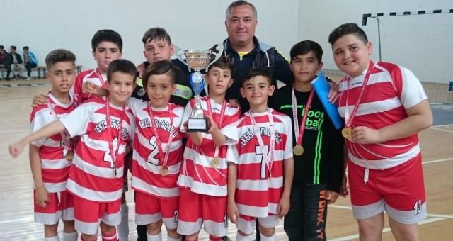 Küçükler Futsal'da Tekeli Şampiyon