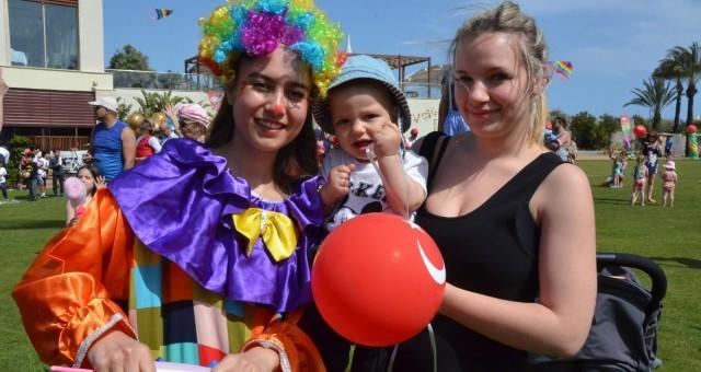 Rixos'ta 23 Nisan Kutlaması ve Uçurtma Şenliği