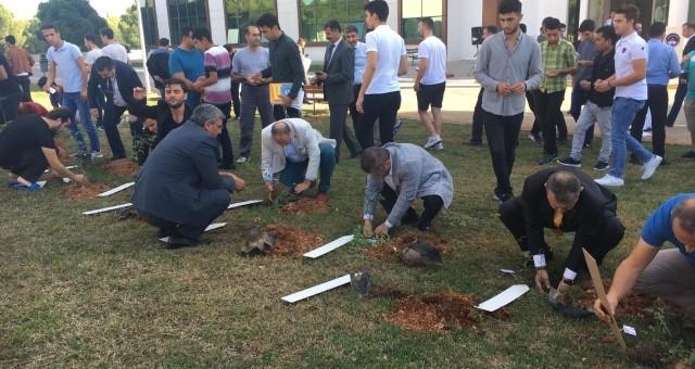 Gençlik Meclisi Şehitleri Unutmadı