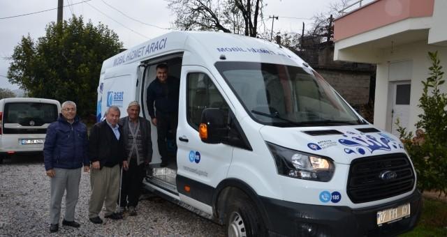 'ASAT Mobil Aracı' Kırsalda Hizmet Vatandaşın Ayağında
