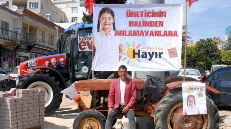 Hollanda Malı Traktörle Kampanya Yapıyorlar