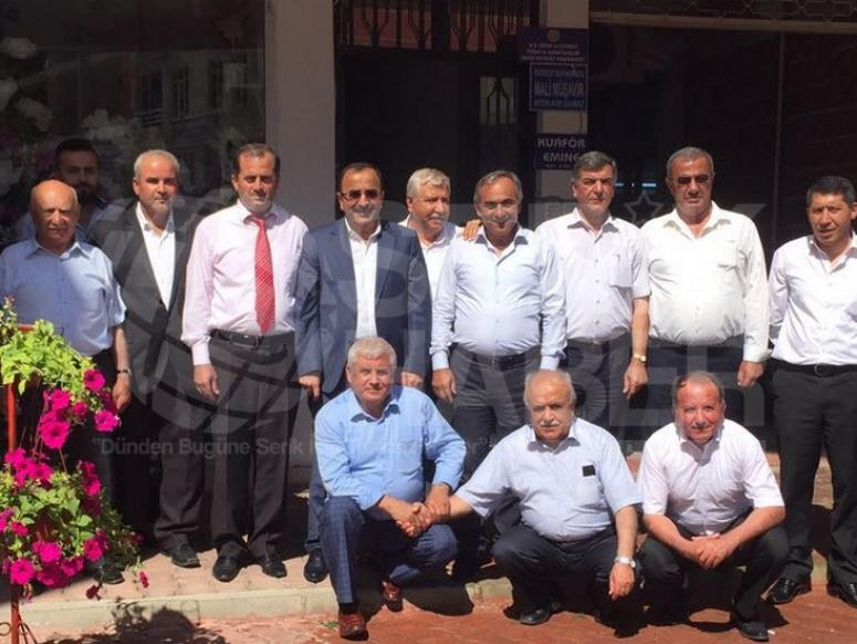 Birlik Başkanı Tural'ın Serik Ziyareti