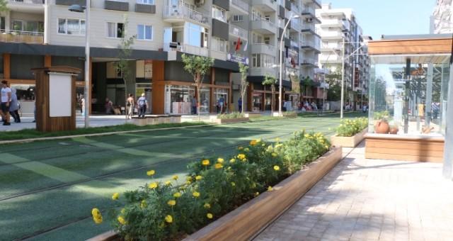 Ali Çetinkaya Caddesi Açık Hava Müzesine Dönüştü