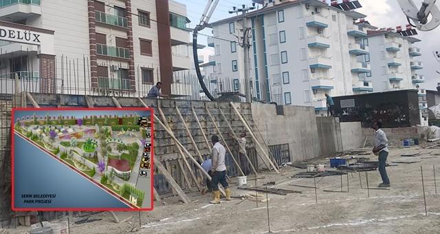 Belediye Orta Mahalle'ye Yeni Yaşam Alanı İnşa Ediyor