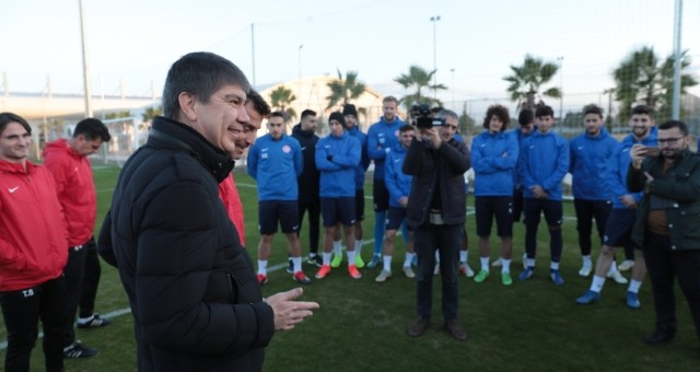 Başkan Türel Antalyaspor'u ziyaret etti