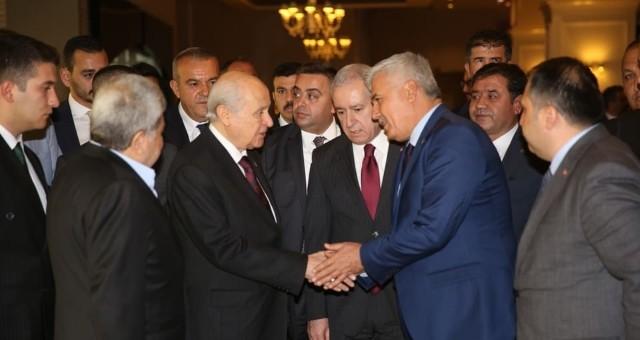 MHP Lideri Bahçeli Serik'te