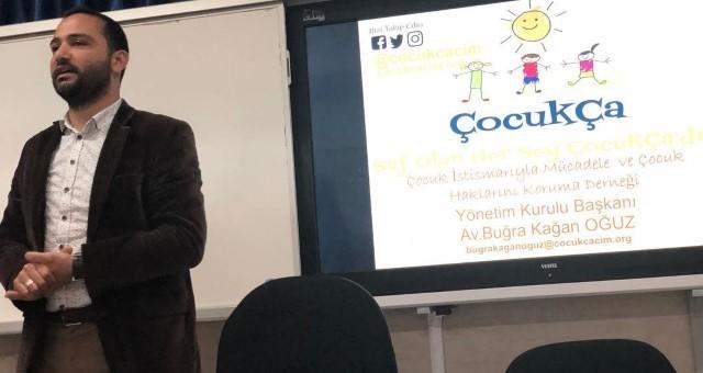 Çocukça Derneği'nden Antalya Adem Tolunay Anadolu Lisesi Semineri