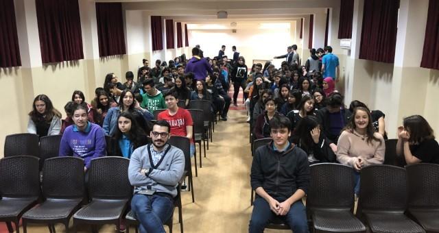 ÇocukÇa Derneği Antalya Türk Telekom Anadolu Lisesi Semineri