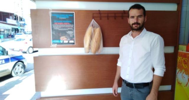 Serik Ülkü Ocakları 'Askıda Ekmek' Projesi Başlattı