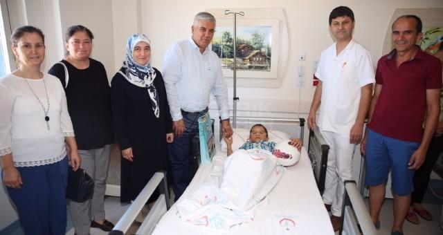 Sünnet Çocuklarına Başkan Çalık'tan Ziyaret