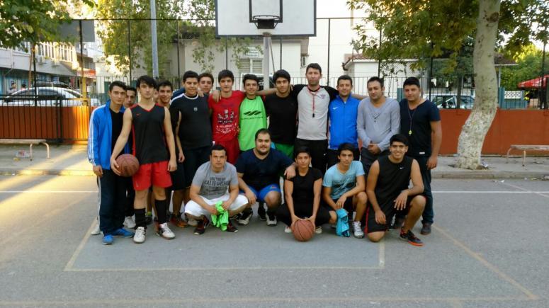 """Serik Belediyesi Sokak Basketbolu Turnuvasının Galibi """"Boca Boston"""""""