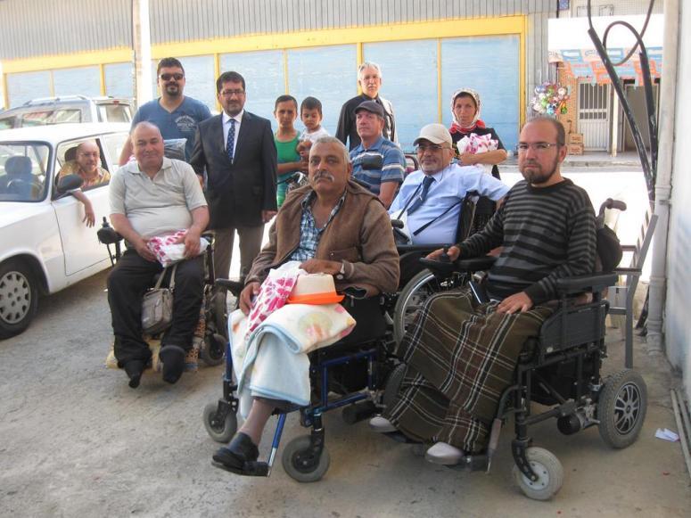 Serik Müftüsü Karakuş'tan Engelliler Derneği Ziyareti