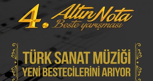 Altın Nota Beste Yarışması başvuruları başladı