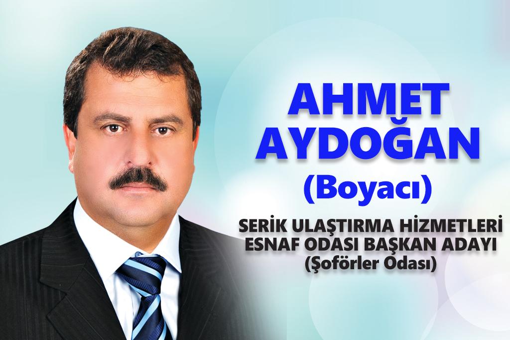 """Aydoğan: """"2018 yılı bizim hizmet, sizin mutluluk yılınız olsun"""""""