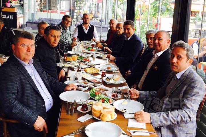 Başkan Utan'dan Dostluk Kahvaltısı