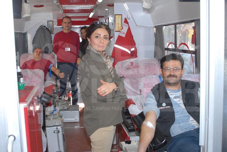 Seriklilerden Kızılay'a Kan Bağışında Destek