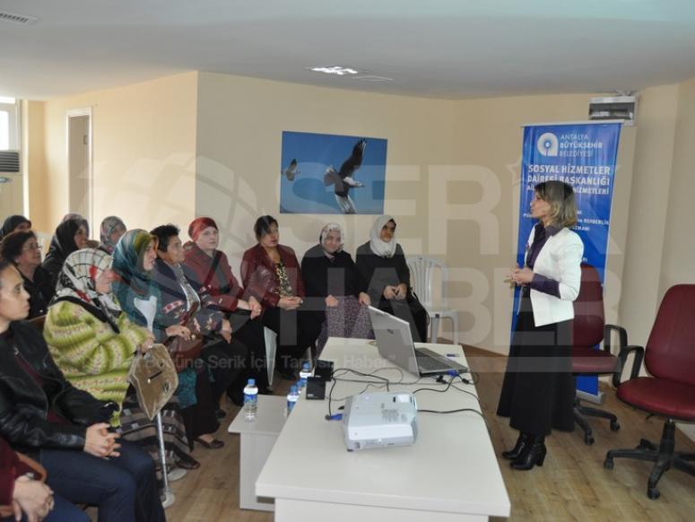 Büyükşehir'den Kadına Şiddete Hayır Semineri
