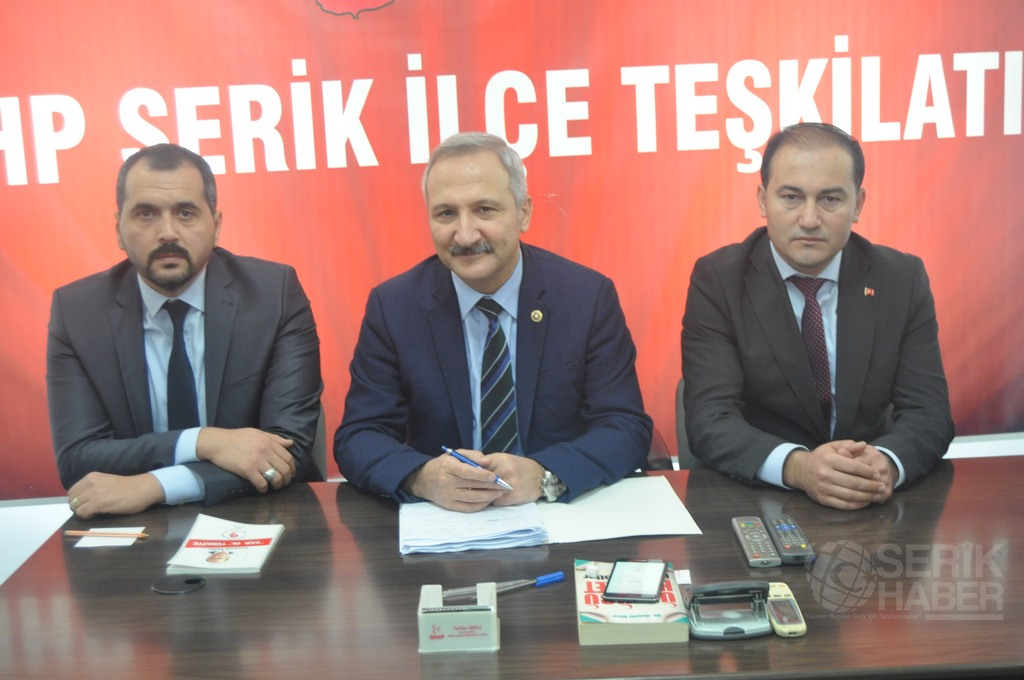 ''MHP'nin Şiarı Önce Ülkem ve Milletimdir''