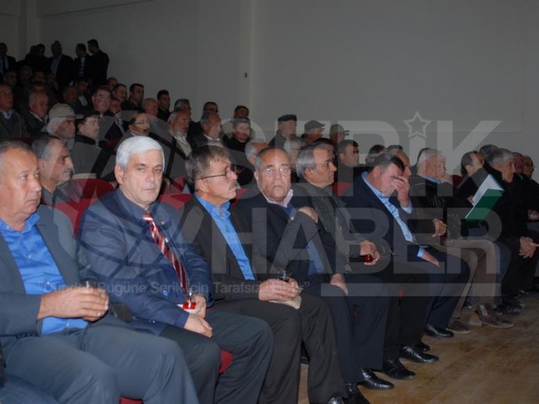 Antbirlik 2014-2015 iş yılı Olağan Genel kurulu Serik'te yapıldı