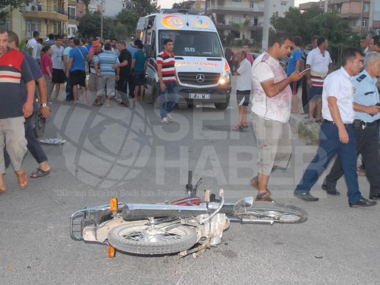 Gençler Kazayı Ucuz Atlattı