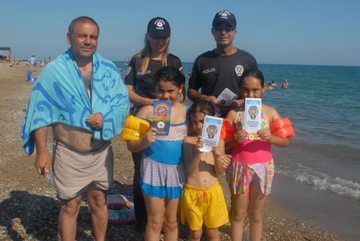 Polis boğulmalara karşı vatandaşları uyardı