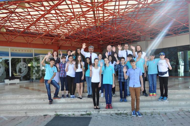 Özel Akdeniz Yükseliş Eğitim Kurumları Macaristan'dan Gelen Konuklarını Ağırlıyor