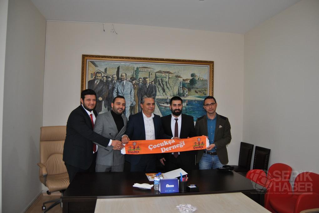 ÇocukÇa Derneği ile Muratpaşa Belediyesi İşbirliği Protokolü İmzaladı