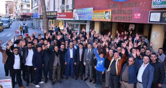 Başkan Adayı Mecek; CHP Teşkilatını Ziyaret Etti