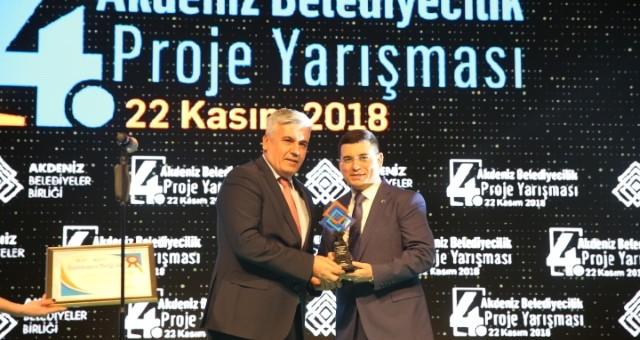 Serik'in Genç Fikir Projesi'ne ödül