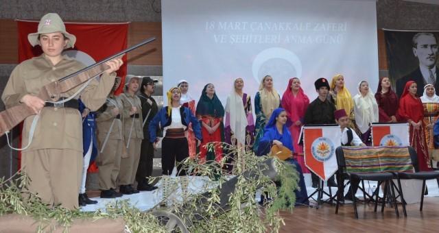 Serik'te Çanakkale Zaferi Kutlandı