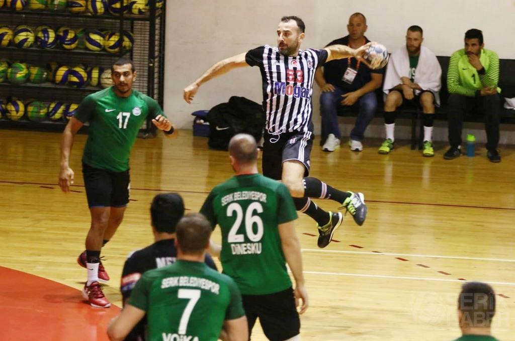 Serik, Beşiktaş Mogaz'a deplasmanda farkla yenildi