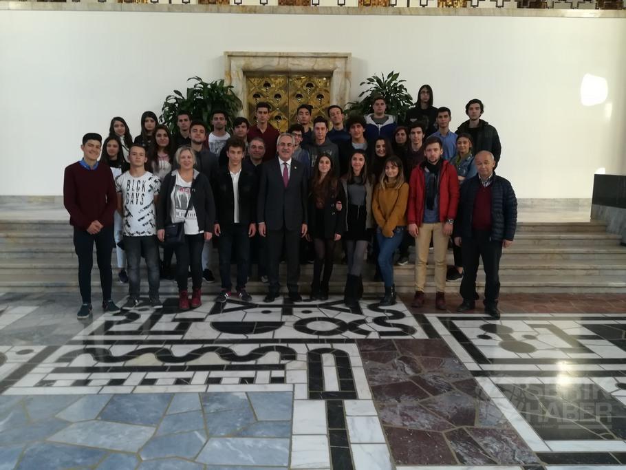 Atatürk Anadolu Lisesi Tbmm'de