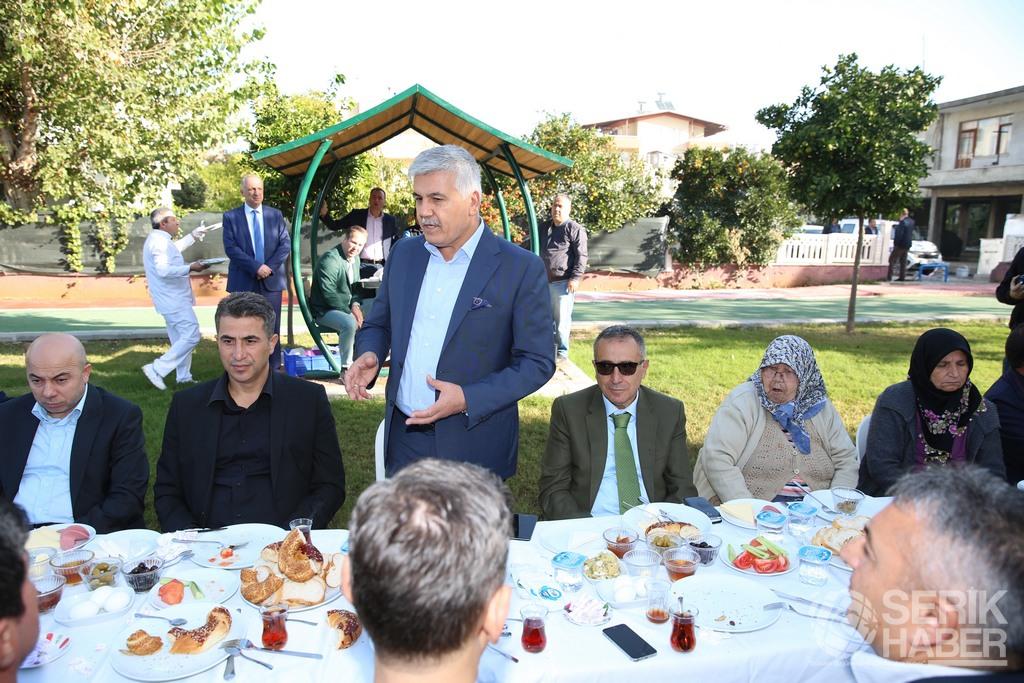 Başkan Çalık'tan Antalya'da yaşayan Seriklilere çağrı