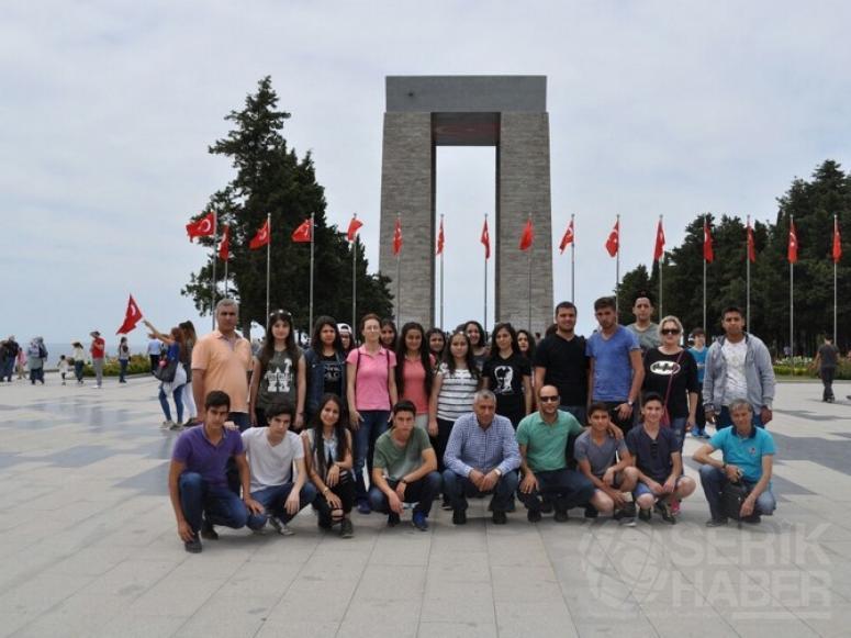Atatürk Anadolu Lisesi'nden Çanakkale'de