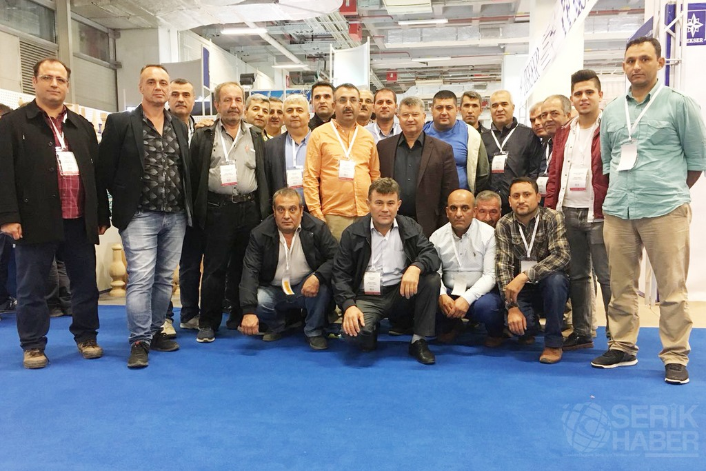 Serik Esnaf Odası üyeleri İzmir ve İstanbul'da Fuarları gezdiler