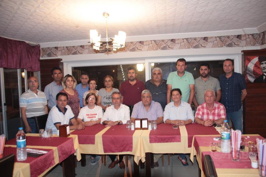 CHP İlçe Teşkilatı Basın Toplantısı Düzenledi
