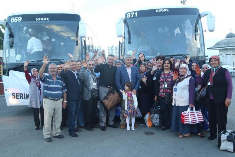 Başkan Çalık Çanakkale Gezisine Katılan 700 Kişiyi Dualarla Uğurladı