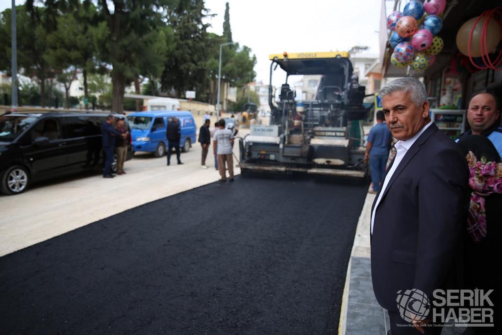 Serik Belediyesi, Asfaltta Tam Gaz Devam Ediyor