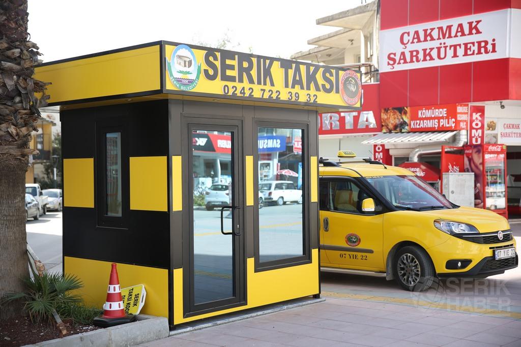 Serik'e Yeni Taksi Durakları