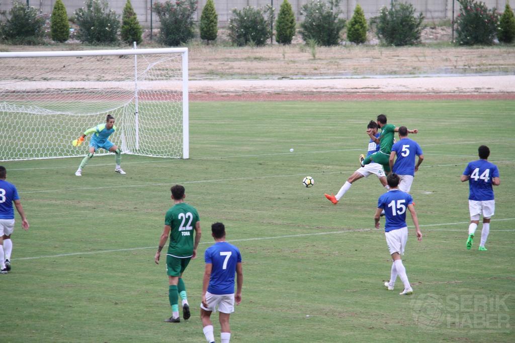Serik Belediyespor coştu, Anamur'a 5 gol attı