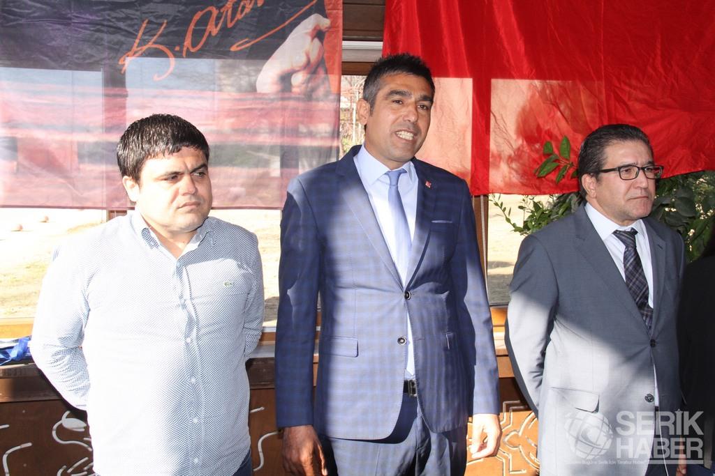 Serik CHP Hedef 2019 diyerek Faik Çıtak'ı aday gösterdi